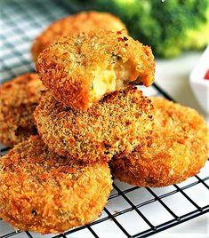 Croquetas veganas al horno saludables riquisimas y muy fáciles de hacer, ideal para poner en ensaladas y mezclar con crema de hummus.