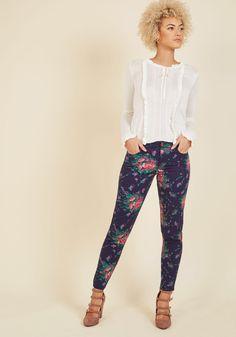 Exuberant Intrigue Pants in Bouquet, #ModCloth