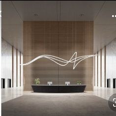 Dental Office Design, Office Interior Design, Office Interiors, Lobby Interior, Interior Exterior, Interior Architecture, Ceiling Design, Lamp Design, Lighting Design