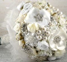 ramos artificiales de novia - Google Search