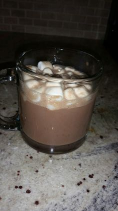Hot Chocolate With Marshmallows (Click Twice For Recipe)