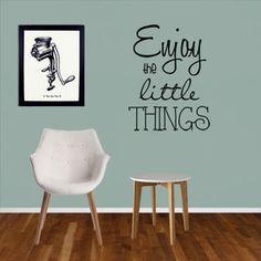 Enjoy The Little Things, Beatles, House, Home Decor, Tray, Studio, Quotes, C'est La Vie, Desk