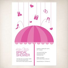 bridal shower umbrella by idoityourself, via Flickr