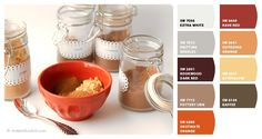 Paint colors from Chip It! by Sherwin-Williams | Photo from: http://hotpolkadot.com/2011/10/11/how-to-tuesday-spice-of-my-life/