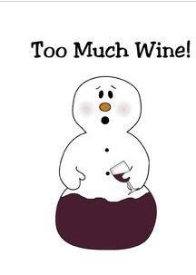 To Much wine!