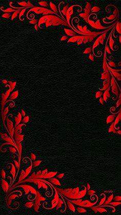 Black Wallpaper Floral Floral Design Art Decoration Background Safflower decorative black leather background More than 3 million PNG and graphics resource at Pngtree. Find the best inspiration you need for your project. Red And Black Wallpaper, Black Phone Wallpaper, Cellphone Wallpaper, Galaxy Wallpaper, Nature Wallpaper, Mobile Wallpaper, Red And Black Background, Textured Wallpaper, Art Background