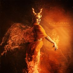 Angel Of Fire by Corvinerium.deviantart.com on @deviantART