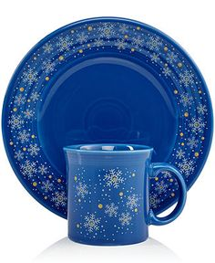 Fiesta Macy's Exclusive Snowflake Collection - Fiesta - Dining & Entertaining - Macy's
