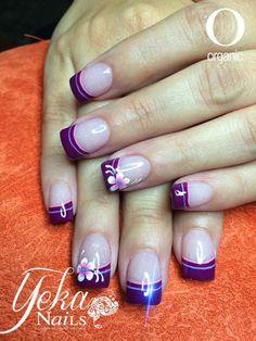 Beautiful Manicure Y Pedicure, Gel Nails, Nail Polish, New Nail Designs, Nail Designs Spring, Black White Nails, Finger Nail Art, Nail Jewelry, Acrylic Nail Art
