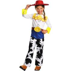 Toy Story Jessie Toddler Halloween Costume, Kids Unisex, Size: 3T/4T, Multicolor