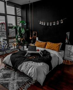 home aesthetic Bedroom Goals Abh - home Dream Rooms, Dream Bedroom, Room Decor Bedroom, Bedroom Ideas, Bed Room, Bedroom Designs, Bedroom Small, Dorm Room, Dark Cozy Bedroom