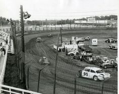 Springfield, Illinois. Springfield Speedway. Courtesy of Springfield Rewind and Sangamon Valley Archives.