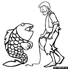 Notes from the Story Room: The Fisherman and His Wife - Stick ...