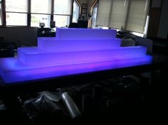 LED Lit Acrylic Bar Display for Drinks Bottles Bar Displays, Drink Bottles, Bathtub, Led, Lighting, Drinks, Standing Bath, Drinking, Beverages