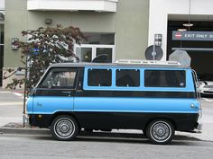 Dodge A100 van by electrofreeze, via Flickr