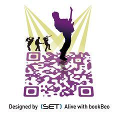 QR Code designé pour l'Office de Tourisme de Brest métropole océane. A retrouver dans le Guide 2012. L Office, Brest, Tourist Information, Qr Codes, Mobile Marketing, Guide, Communication, Coding, Concept