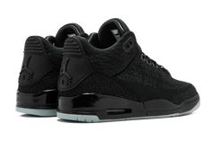 "Air Jordan 3 Retro Flyknit ""Black/Anthracite"" - EUKicks.com Sneaker Magazine"