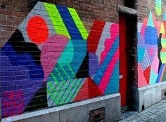 Maya Hayuk, un Street art complexe et psychédélique