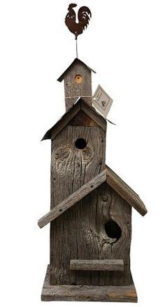 Ray's Birdhouses - Natural Barn Wood