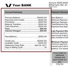 How To Understand Your Credit Card Billing Statement  Credit Card
