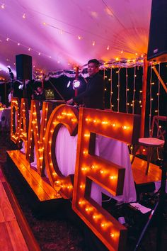 Newagen Seaside Inn wedding captured by Emilie inc | Event Planning by B Merry Events | Lighting by The Event Light Pros