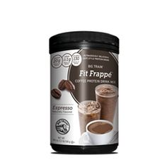 Try our Mocha #FitFrappe Protein Drink Mix iced for a coffeehouse favorite packed with power.