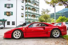 The very lovely Ferrari F40 like it or not its hot!