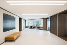 New York, NY Fogarty Finger worked closely with Boston Properties to develop their headquarters to evoke an inviting, transparent environment mimicking the spirit of the company. A warm color palet…