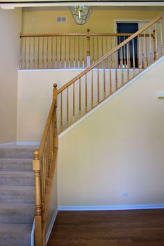 updating a 90 s staircase, chalk paint, painting, stairs, wall decor