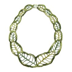 #FairTuesday  This gorgeous necklace makes quite a statement, while its delicate fabric construction adds weightless style impact.