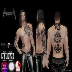 Horizon Tattoo For Men Teleport Hub Group Gift by Angels Design
