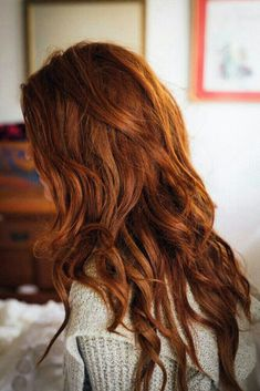 Medium ginger hair