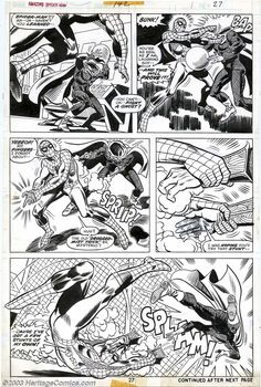 Ross Andru and Frank Giacoia - Original Art for The Amazing Spider-Man #142 (Marvel, 1975)