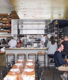small space cafe/restaurant | Restaurant Nominee; Superba Snack Bar (Venice, CA) designed by Reed ...
