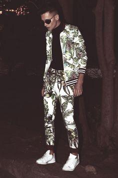 / Bomber Jacket Imperial  / Trousers  Designed by Myself  /  Sneakers Adidas Original / Watch Calvin Klein / Turtleneck Blouse Tezenis  / Sunglasses Asos   Photography : Jacek Juras