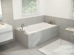 """GUEST BATH: Mirolin Pur 72"""" Drop-In Tub $809 (+ $100 drain)"""