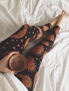 Sun and Moon hippie leggings.