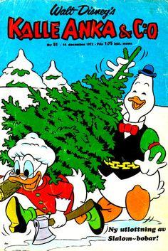 Cover for Kalle Anka & C:o (Hemmets Journal, 1957 series) #51/1972
