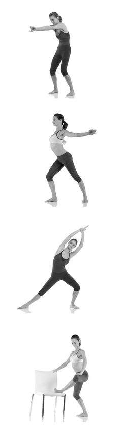 Don't forget to stretch! These stretches help to work every muscle