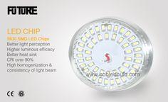 LED Bulb 5630 24W SMD LED Chips, better light luminous efficacy, better heat sink, CRI over 90%, High homogenization & consistency of light beam