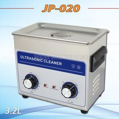 157.85$  Buy now - http://ali8sx.worldwells.pw/go.php?t=32690348900 - 2PC  Hot sell  AC 110v/220v timer&heater JP-020 Ultrasonic cleaner 3.2L hardware accessories motor washing machine 157.85$