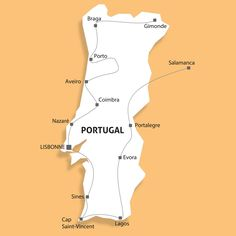 Circuits - Portugal - Voyages & Circuits en camping car et séjours organisés en camping-cars