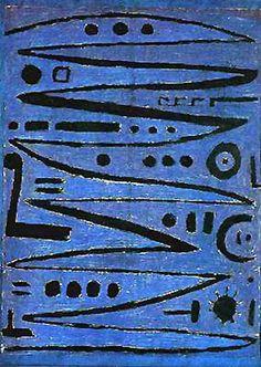 Paul Klee - Heroic Fiddling, 1938. More