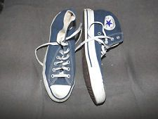 Converse Chuck Taylor All Star blue canvas high top sneakers size 8 men | http://www.cbuystore.com/page/viewProduct/10069746 | United States