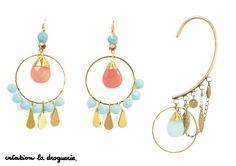 On met des BO ou un bracelet d'oreille ? Notre coeur balance !! #ladroguerie #bijoux #bo