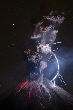 Superbe Nature, tulipnight: Volcan de Colima au Mexique par Sergio ...