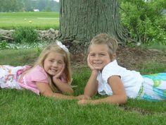 Haley and Megan