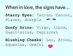 LEO / I would say i definitely blush and may smile a lot more if the guy is being funny or if he laughs at something, then i'll be more inclined to smile and laugh. Zodiac Sign Traits, Zodiac Signs Sagittarius, Zodiac Star Signs, Horoscope Signs, Zodiac Horoscope, My Zodiac Sign, Horoscope Memes, Horoscopes Funny, Zodiac Signs In Love