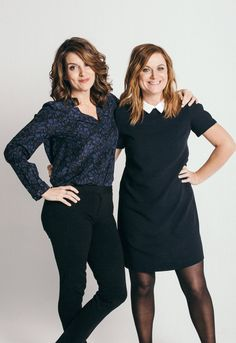 Tina Fey and Amy Poehler.