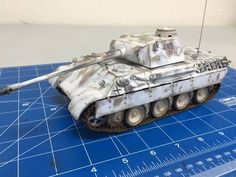 Tutorial #1 Complete step by step white washing weathering of a 1/35 Tamiya  Panther - YouTube